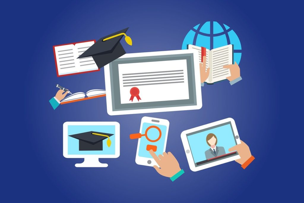 e-learning digital formation mobile video